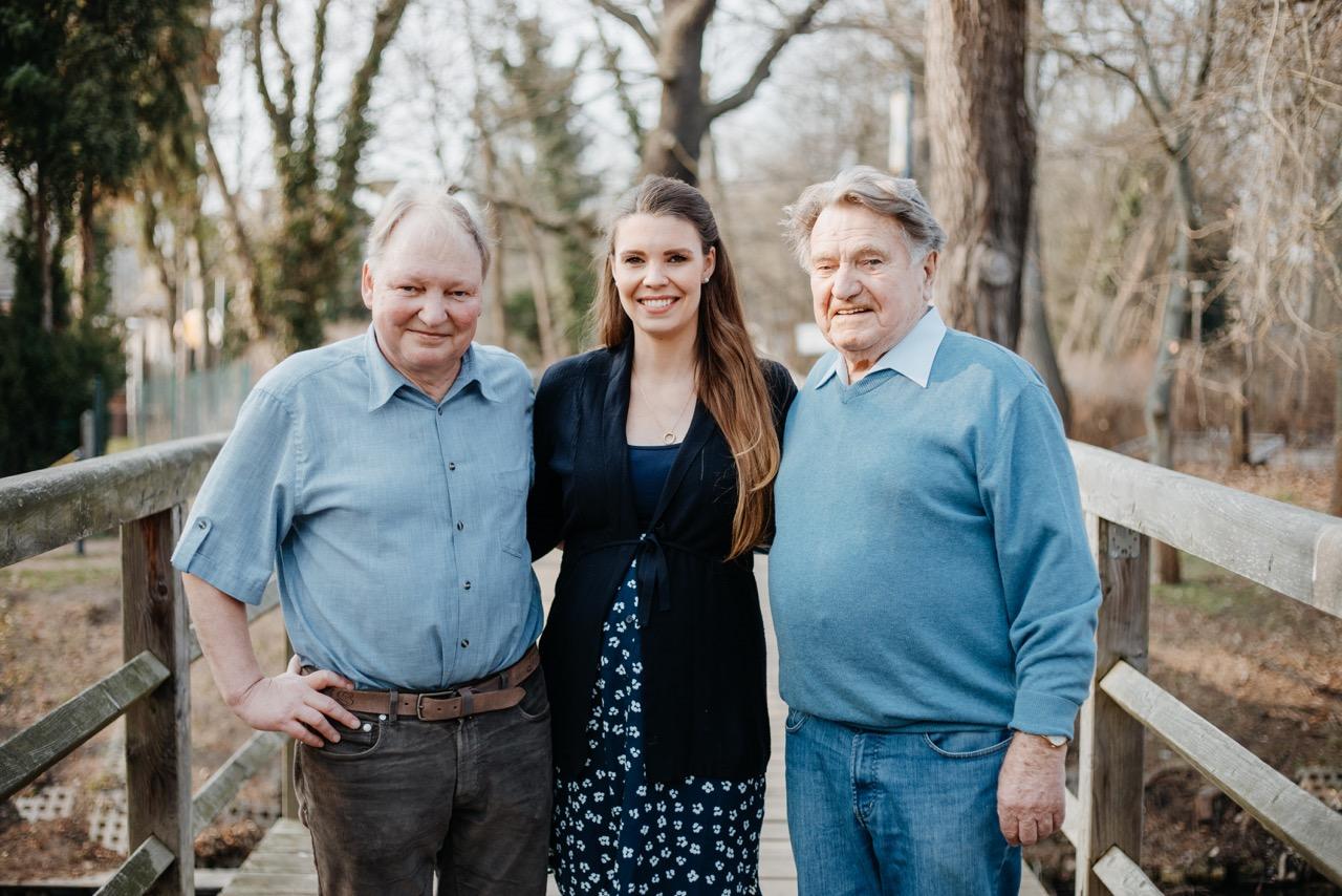 Familie Marchot - Drei Generationen der Werftführung